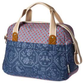 Basil Bohème - Sac porte-bagages - beige/bleu